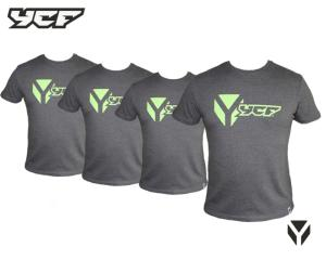 TEE SHIRT YCF GRIS TAILLE L