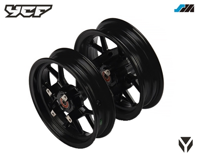 SUPERMOTO PAIR OF WHEELS SET (2,15X12' FRONT /2.75X12' REAR)