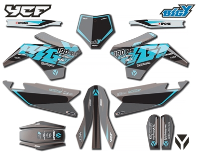 KIT DECO COMPLET BIGY FACTORY DAYTONA FD190 MX 2021