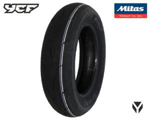 PNEU ARRIERE RACING PISTE MITAS MC35 100/90-10p - MEDIUM